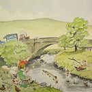 Gone Fishing by Martin Williamson (©cobbybrook)