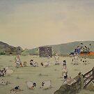 Village Cricket 3 by Martin Williamson (©cobbybrook)