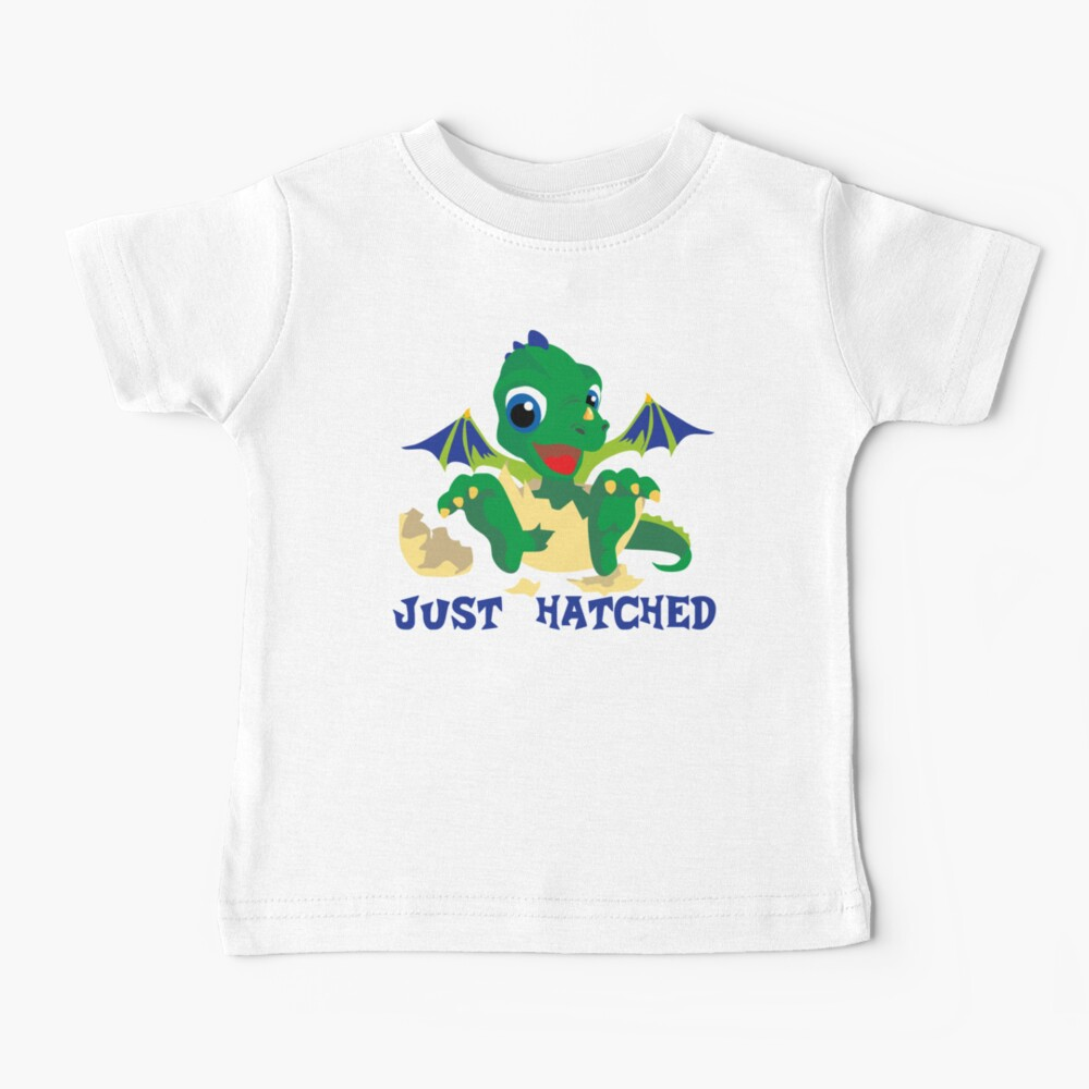 Just Hatched Cute Baby Dragon Baby T-Shirt