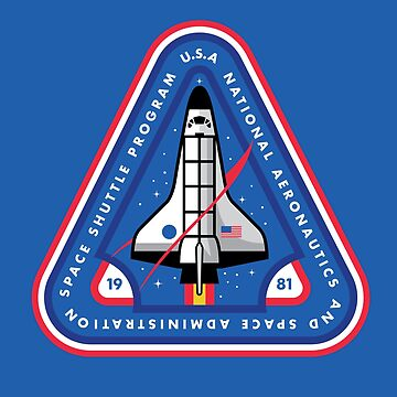 Space Shuttle Program NASA Inspired T-Shirt by Jamieferrato19
