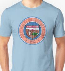 ARIZONA STATE SEAL - POPULAR DISTRESSED STATE DESIGN WITH ARIZONA STATE SEAL Unisex T-Shirt