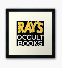 Ray's Occult Books Framed Print