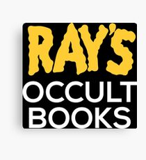Ray's Occult Books Canvas Print