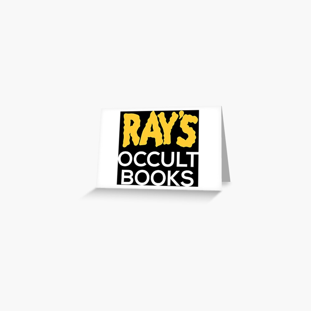 Ray's Occult Books Greeting Card