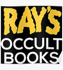 Ray's Occult Books Poster