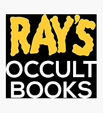 Ray's Occult Books Photographic Print