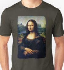 Mona Lisa Restored Unisex T-Shirt