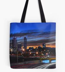 Perth City At Dusk  Tote Bag