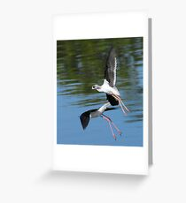 Stilts Greeting Card