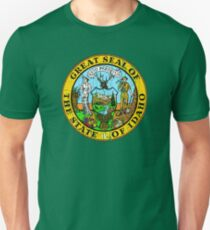 IDAHO STATE SEAL - POPULAR DISTRESSED STATE DESIGN WITH IDAHO STATE SEAL Unisex T-Shirt