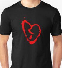 Red Heart Symbol Unisex T-Shirt