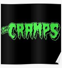 The Cramps GREEN FUZ Poster