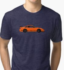 Pumpkin Racer – 997 GT3 RS Inspired Tri-blend T-Shirt