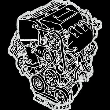 Honda Civic Type R EP3 K20A Engine by nutandbolt