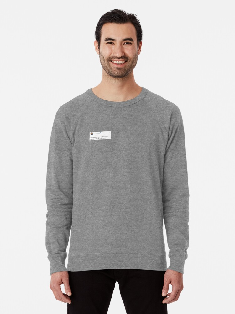 'Tana Mongeau Tweet' Lightweight Sweatshirt by keirablu