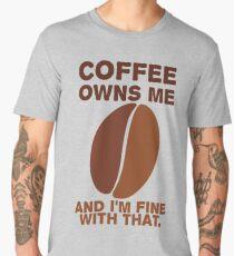 Coffee Owns Me Men's Premium T-Shirt