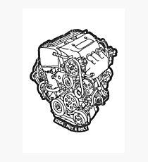 Honda Civic Type R EP3 K20A Engine Photographic Print