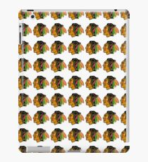 Chicago Inspired Hockey Pattern Print 4 iPad Case/Skin