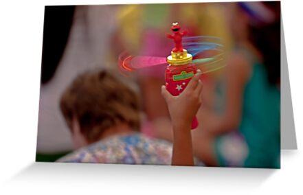 Spinning Elmo by Buckwhite