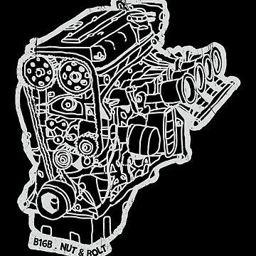Honda Civic Type R EK9 B16B Engine by nutandbolt