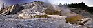 Palette Spring, Mammoth Hot Springs - Panorama by Stephen Beattie