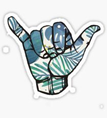 Tropical Hang Loose Sticker