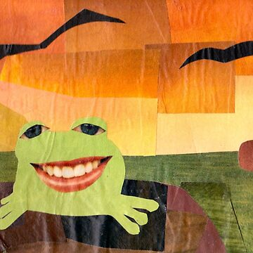 Frogs on Logs Collage by fructosebat