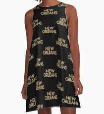 New Orleans A-Line Dress