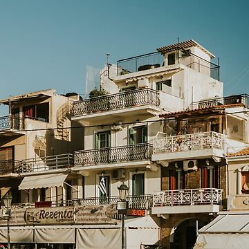 The roofs of Zakynthos by Hudolin