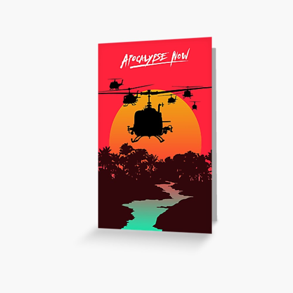 Apocalypse Now Greeting Card