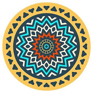Mandala Yoga and Reiki Spiritualism Design by Noto57
