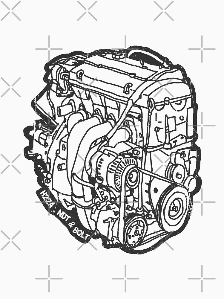 H22 Honda Motor