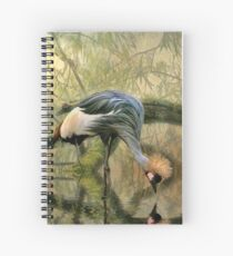 Crane Reflections Spiral Notebook
