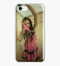 Psycho with squeegee iPhone Case/Skin