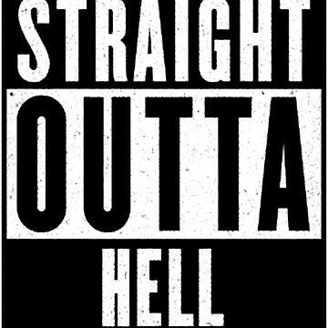 Straight Outta Hell by Marshmalloww