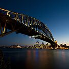 Sydney Harbour Bridge 2 by davecourt