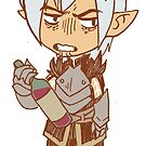Tiny Fenris by Cara McGee