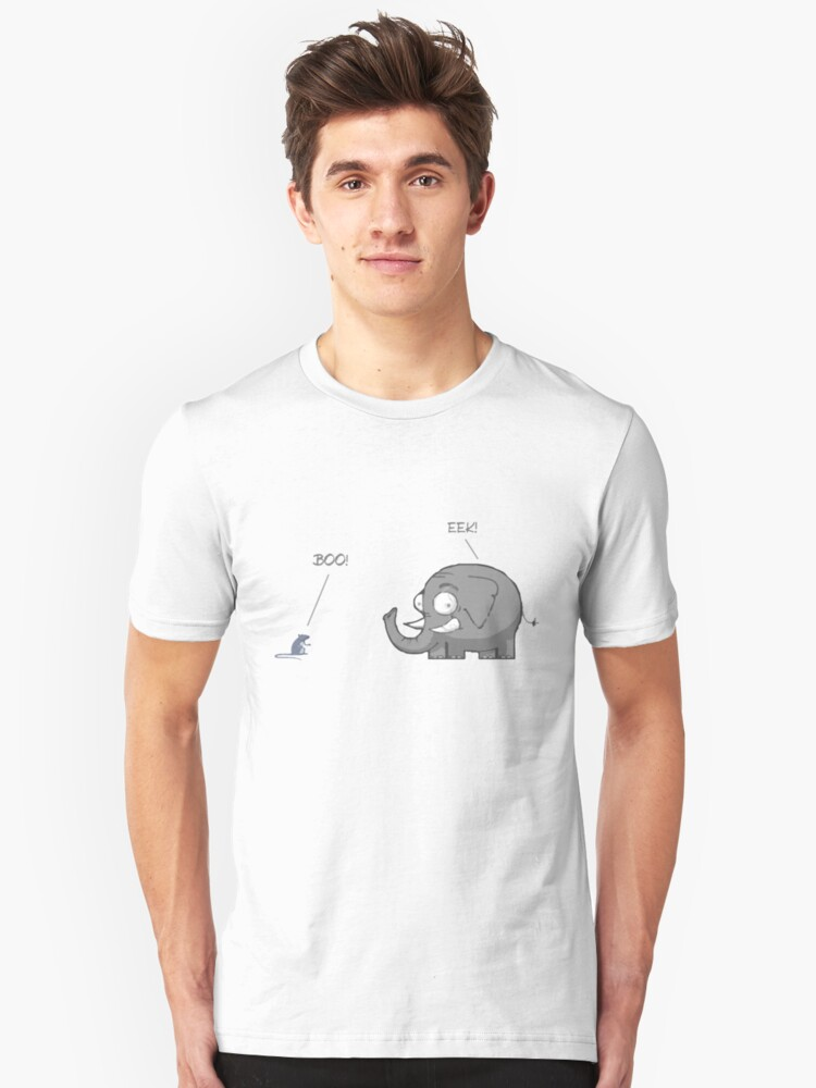 BOO! Unisex T-Shirt Front
