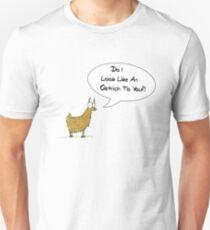 It's a Llama, Dude! T-Shirt