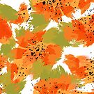 Papaya Explosion #redbubble #papaya by designdn