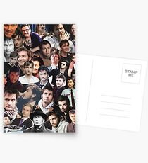 David Tennant Collage Postcards