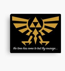 OCARINA OF TIME YEAH Canvas Print