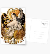 PALLAS ATHENA Postcards
