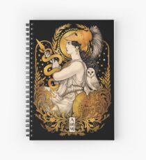 PALLAS ATHENA Spiral Notebook