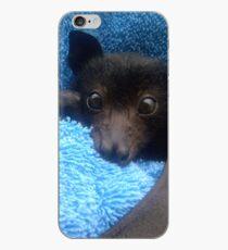 Baby Bat Cruz In Blue. iPhone Case