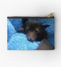 Baby Bat Cruz In Blue. Studio Pouch