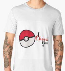 I choose you! - Pokemon Men's Premium T-Shirt