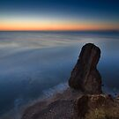 Seaham Harbour Sunrise UK by David Lewins