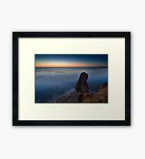 Seaham Harbour Sunrise UK Framed Print