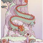 Emerald Dragon by adelaydeart